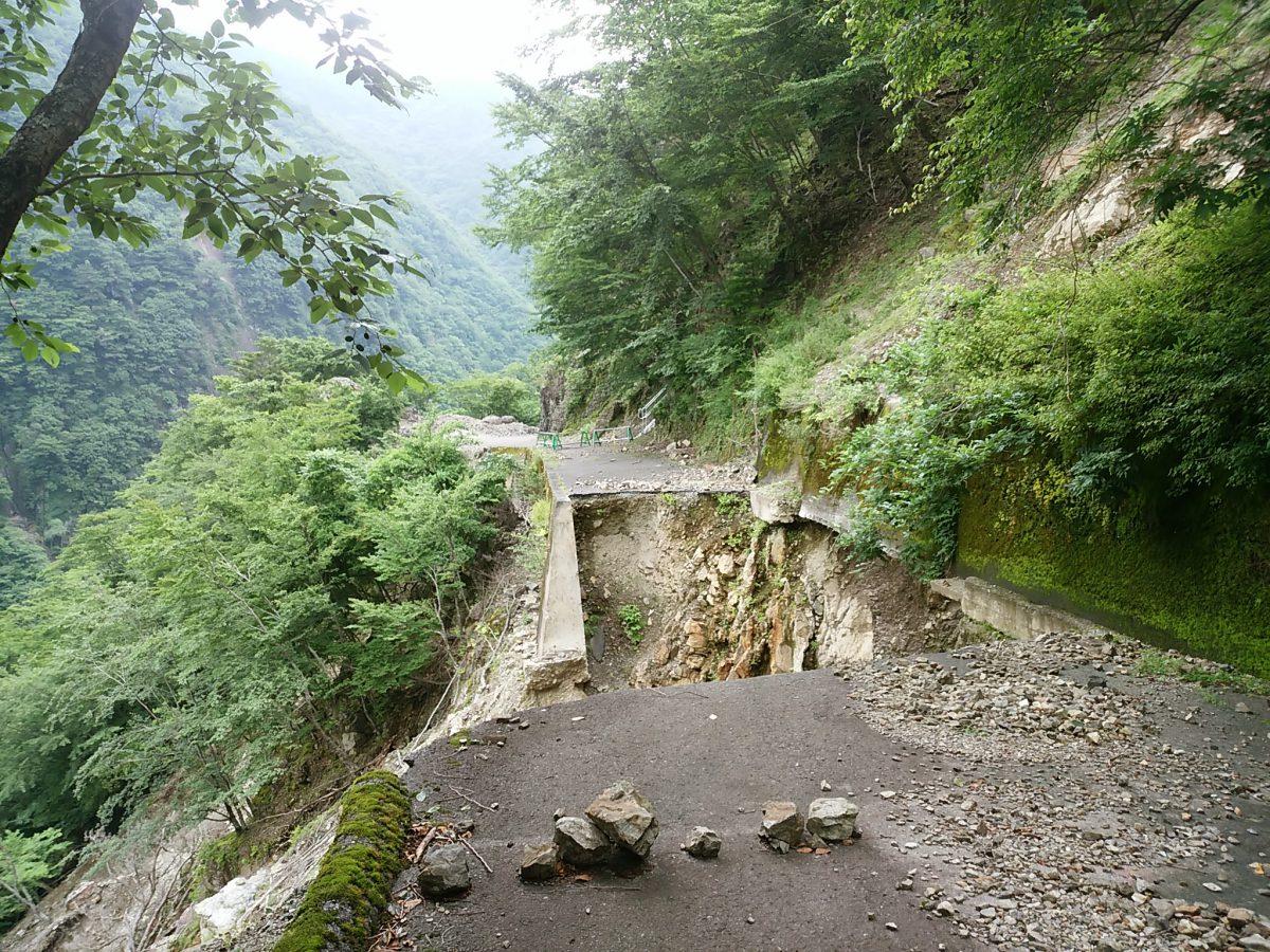 20160716-17 白川又川林道茗荷谷ゲート~フジノトコ