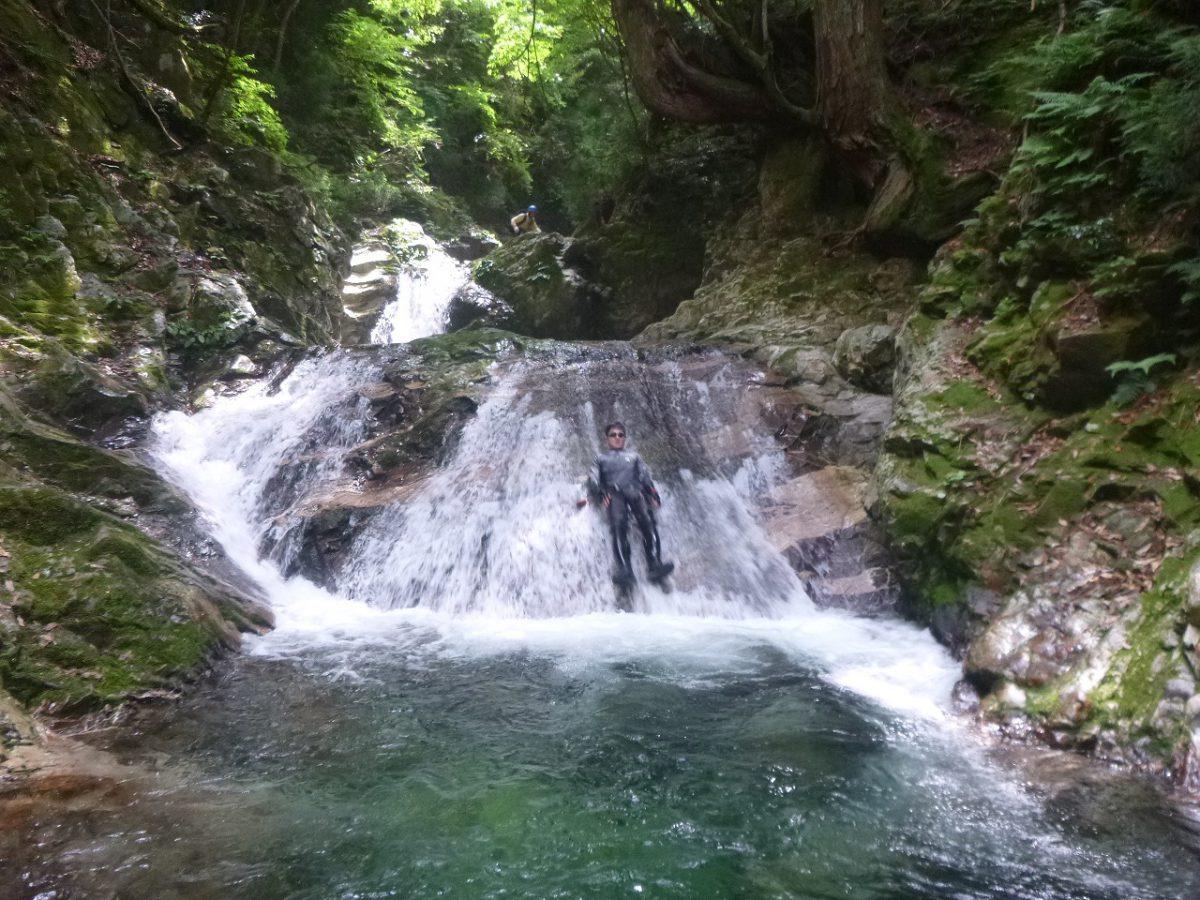 20160724 比良 奥ノ深谷 ~滝と清流にウキウキ ガクガク~