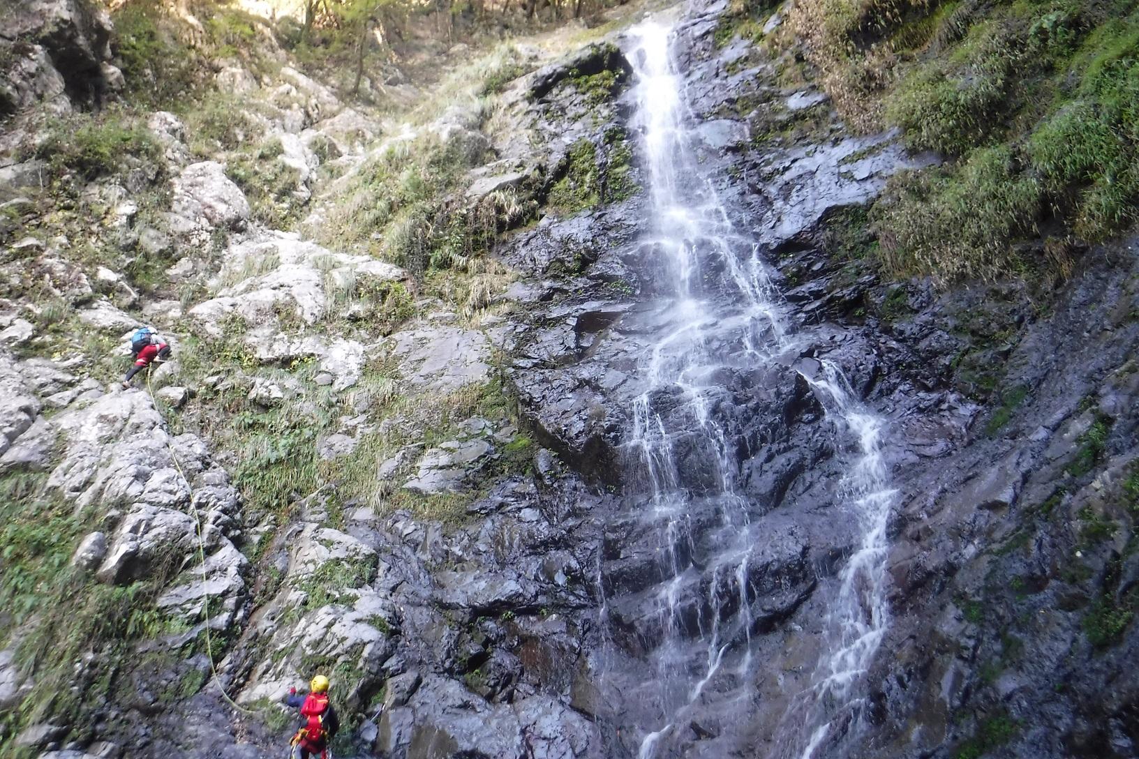 久瀬谷大滝の写真