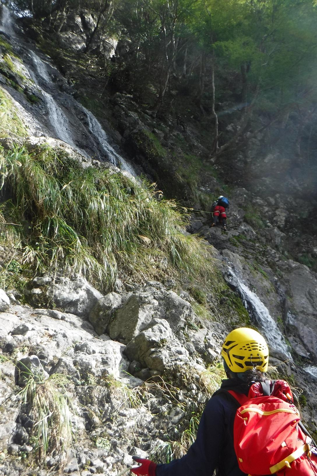 久瀬谷大滝上段の写真