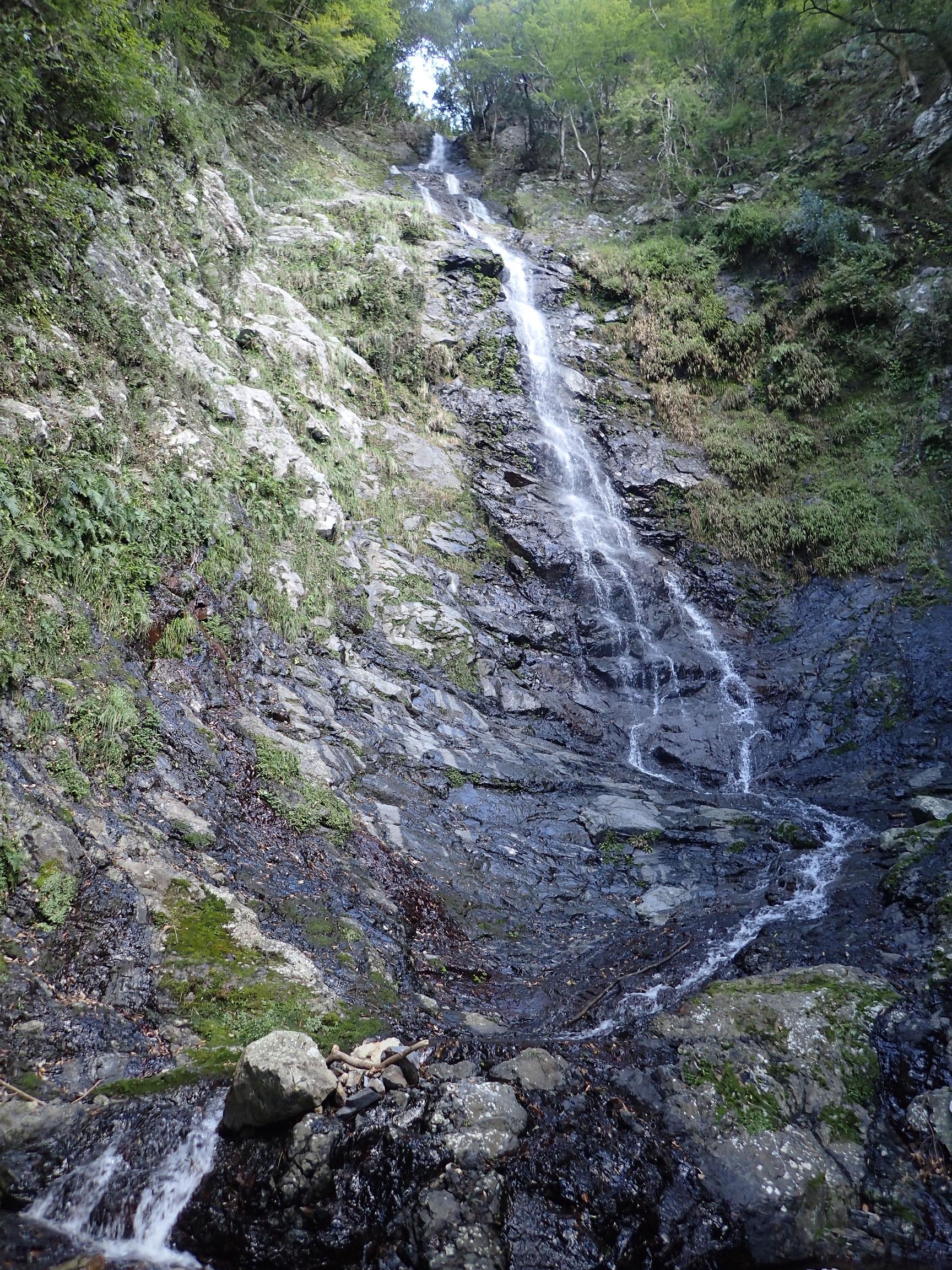 久瀬谷大滝全体の写真