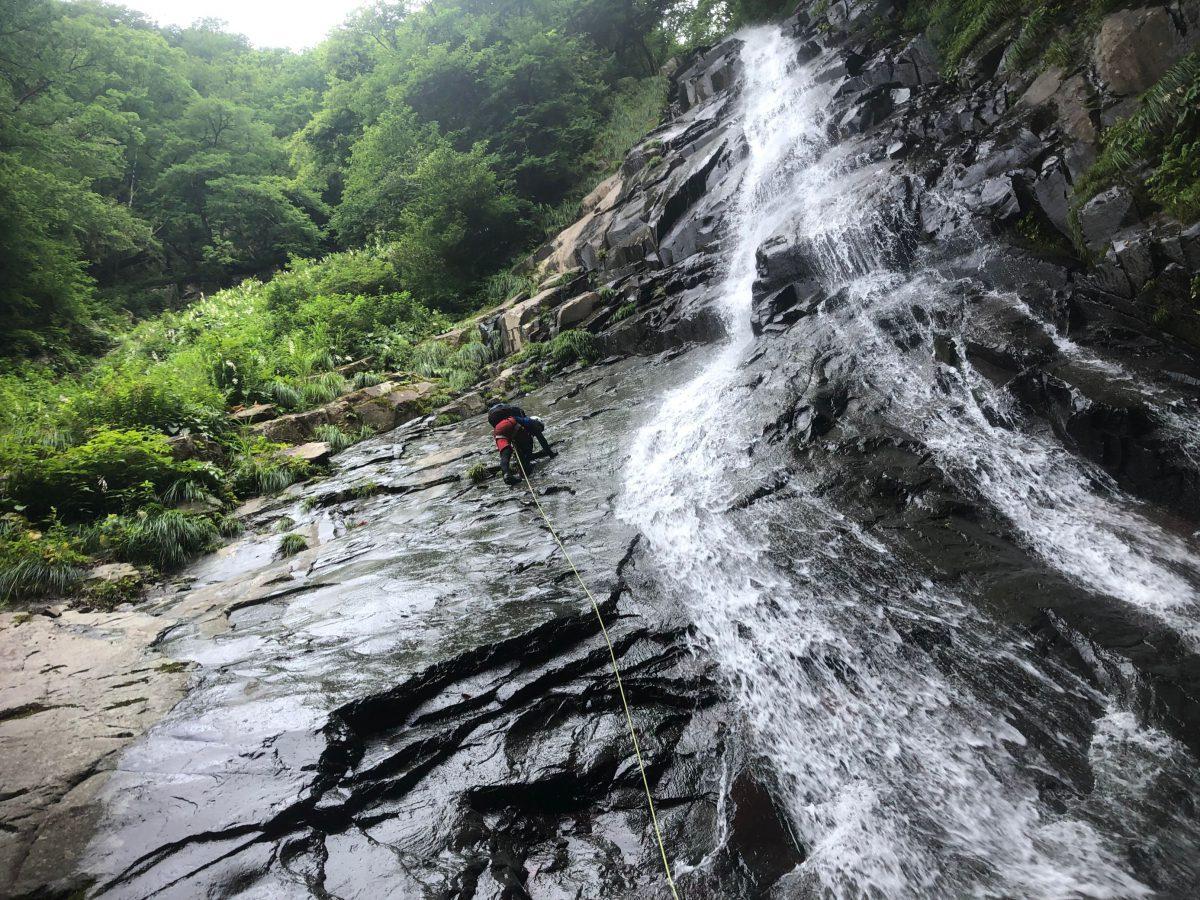 氷ノ山  布滝登攀