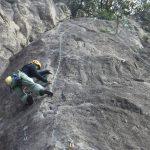 第七回岩トレin烏帽子岩(2020年2月)